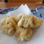 海鮮屋 - だだみ(鱈の白子)の天ぷら