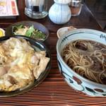 満留賀 - 親子丼セット 800円