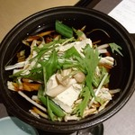 甘露の森 - 甘露豆腐と野菜のすき煮