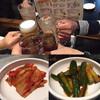 焼肉 金城 - 料理写真:乾杯&キムチ