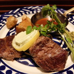 GRILL & PUB The NICK STOCK - ハネシタステーキ