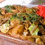 竹のこ - ポテト入り焼きそば(普通盛り)