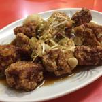 台湾ラーメン 幸龍 - 酢豚