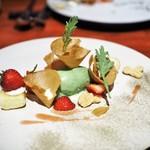 ビストロ・シンバ - とちおとめ 春菊のアイス