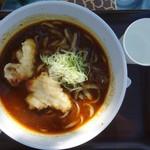 東山茶寮 - 料理写真:カレーきしめん