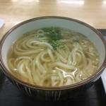 亀城庵 - かけうどん2玉(*゚∀゚*)350円