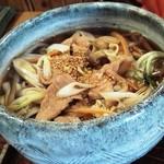 むぎきり - 料理写真:肉うどん750円
