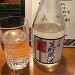 おでん居酒屋 三幸 - 170317金 石川 三幸 生貯蔵酒