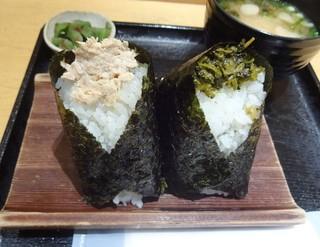 ぼんたぼんた クイーンズ伊勢丹横浜店 - ツナマヨネーズ、高菜の油炒め