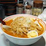 蒙古タンメン中本 - 味噌卵麺