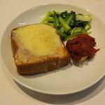 egg - エッグ・ロスコ ケールと青野菜のソテー1