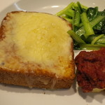 egg - エッグ・ロスコ ケールと青野菜のソテー2