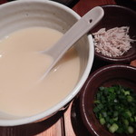 和味 - とろ~り濃厚鶏出汁スープ