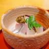 桔梗屋 - 料理写真:お造り(白いか、細魚、鮃)