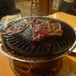 炭火焼肉 味楽亭 - 焼しゃぶ