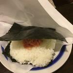 やきとりの扇屋 - オニギリ(サケ)