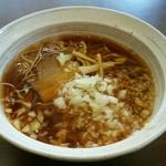 麺屋 凛 - 料理写真:熟成醤油ラーメン 560円