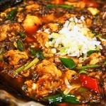 ファンファン - 激辛の陳麻婆豆腐