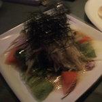 バー グラッパ - 大根とアンチョビの和風サラダ