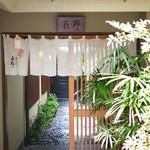 水たき 長野 - 入口暖簾