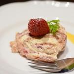 自家製パスタ洋食堂 マルブン - 苺ティラミス