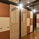 百万石のおもてなし 金沢乃家 - 個室入口
