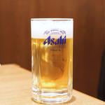 鶯谷園 - 生ビール