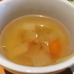 マッテオ - ランチにつくスープ