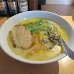 麺屋 丸鶏庵 - 鶏白湯塩(750円)