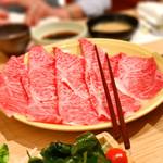 65966837 - しゃぶしゃぶの肉