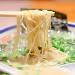 田中商店 - バリカタにした。極細ストレート麺。低加水