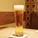 東京チャイニーズ 一凛 - 生ビール
