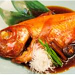 すしざんまい - 金目鯛の煮付け