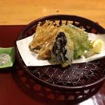 会津郷土食 鶴我 - 野菜の天ぷら