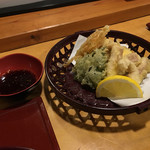 会津郷土食 鶴我 - 馬脊髄の天ぷら(単品追加)