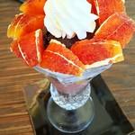 プリンス オブ ザ フルーツ - ブラッドオレンジパフェ(タロッコ種)