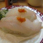 海鮮寿司 おのざき - かさご ¥250-