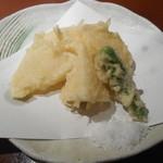 稲庭うどん 鴇 - 新筍天ぷら