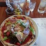 65975553 - プロシュートと野菜のPizza(M)