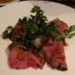 65975621 - 前菜②徳島牛のローストビーフ