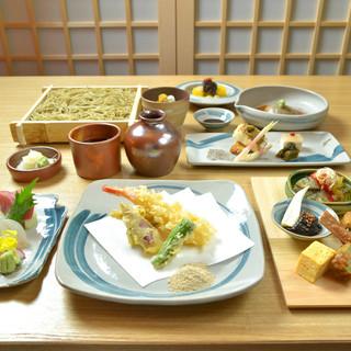 和食の料理の料理人が季節ごとの厳選素材で作る本格懐石料理