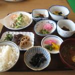 三河湖観光センター - 料理写真: