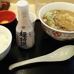 65977877 - Aセットの生蕎麦セット(天ぷらそばと納豆ご飯)