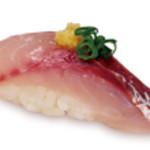 すしざんまい - あじ 1個148円(税別)