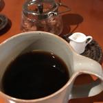 カシェート - たっぷり入れてくれるコーヒー