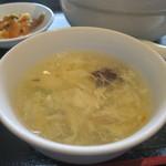 zanikugyouzashisenshuubou - 豆腐とかき玉のスープアップ