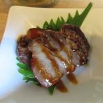 中国食彩館 龍の髭 - 蒸し豚