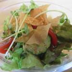 中国食彩館 龍の髭 - 中華サラダ、独特な甘めのドレッシング