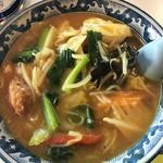 中華風レストラン 紅華 - カレータンメン