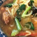 中華風レストラン 紅華 - たっぷりな野菜カレー風